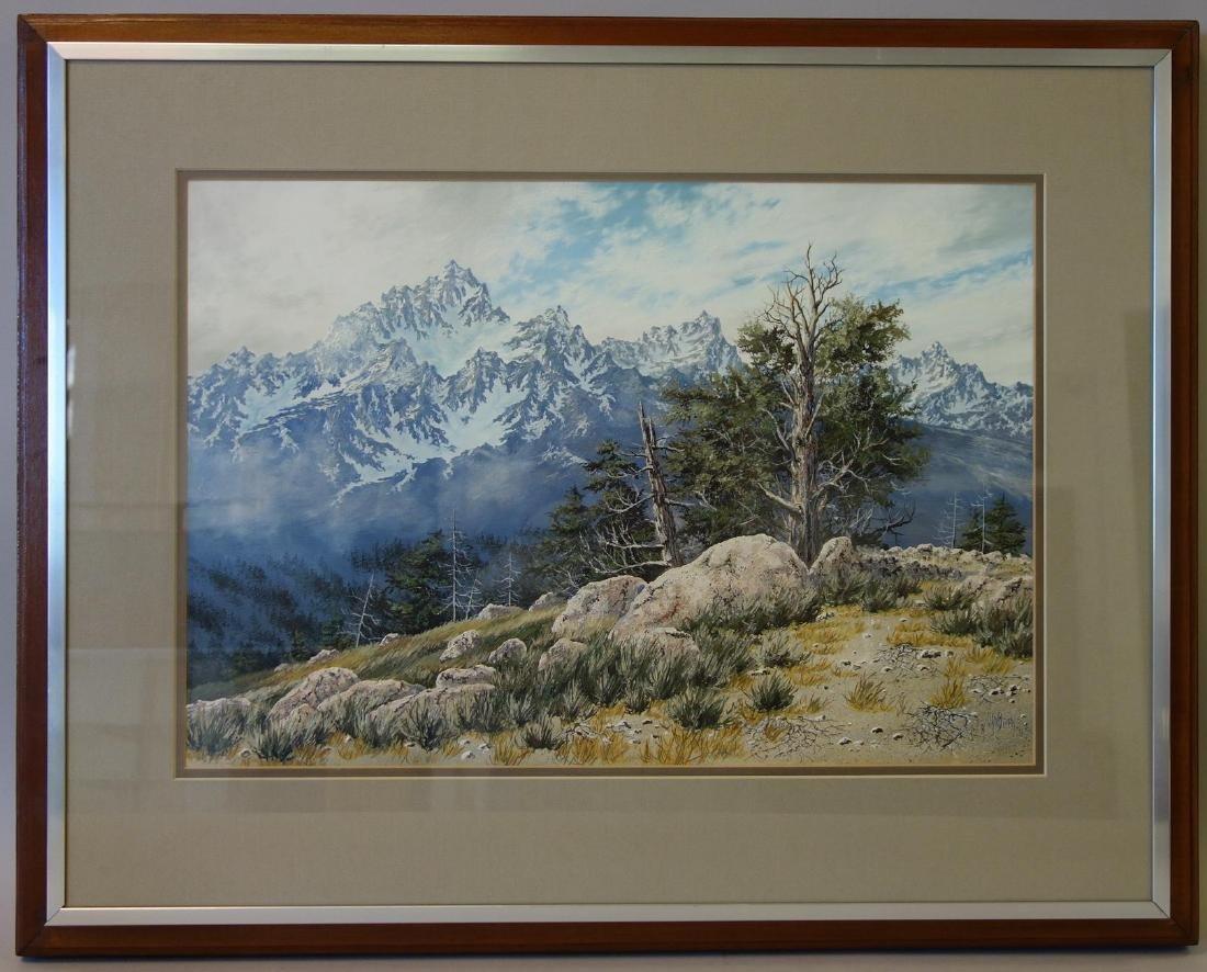 Randy Van Beek (Washington-1958) Landscape - 2