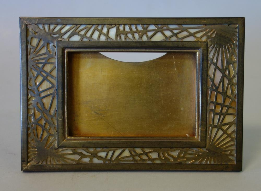 Tiffany Studios Pine Needle Calendar Frame Holder