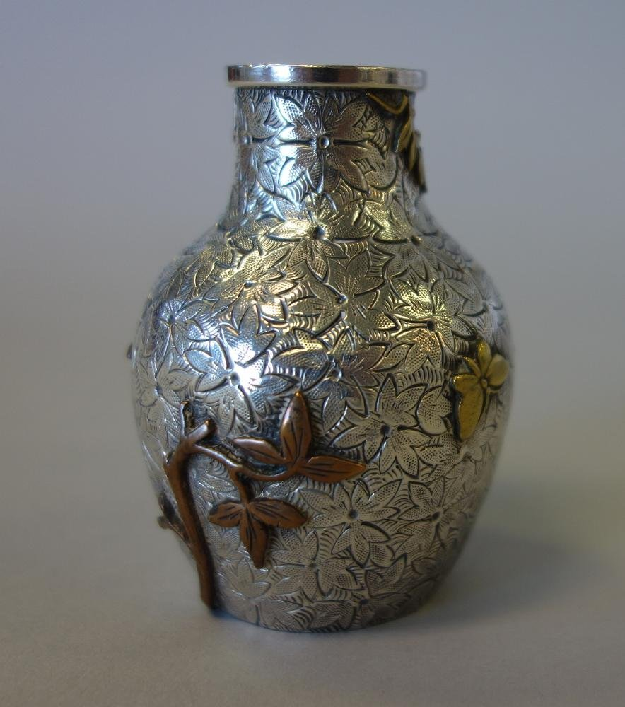 Dominick & Haff Aesthetic Movement Sterling Vase