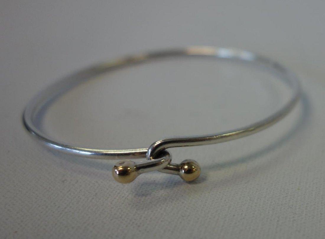 Tiffany & Co Sterling & Gold Knot Bracelet & Ring - 2
