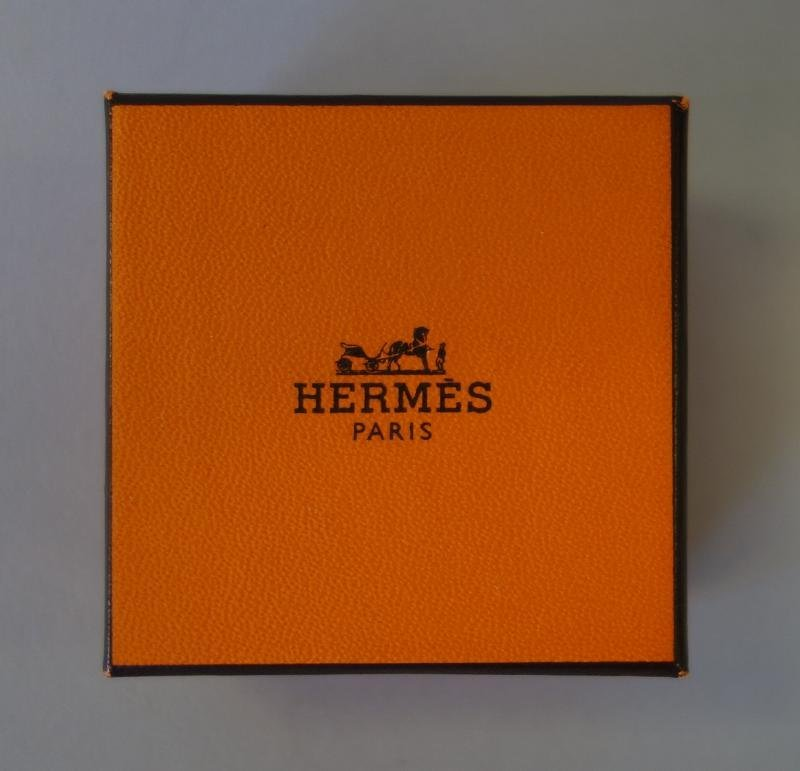 Hermes Chaine D'Ancre Scarf Ring, Pouch & Box - 3