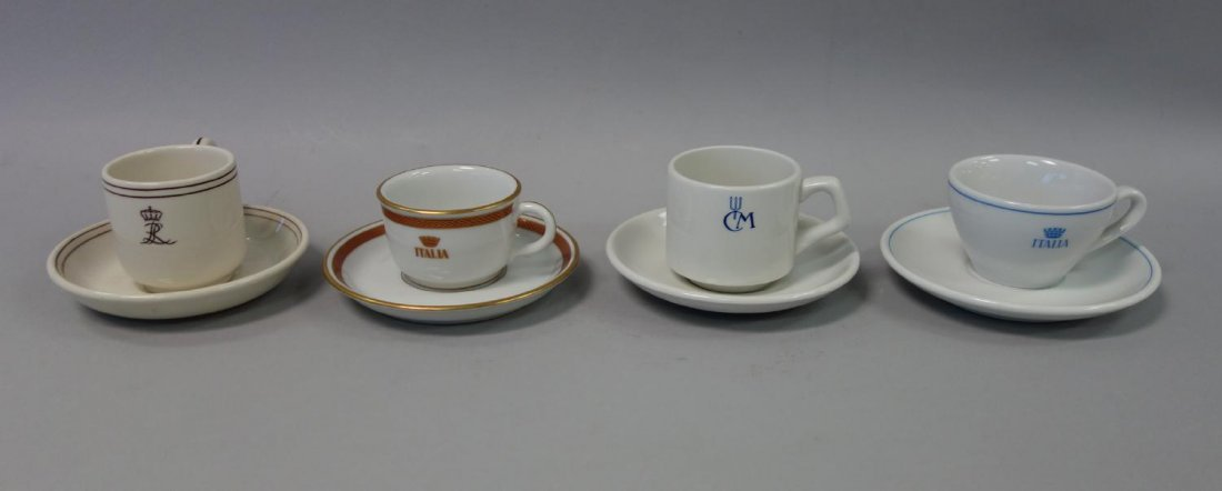 Ocean Liner China Sets, Italia, Royal Interocean +