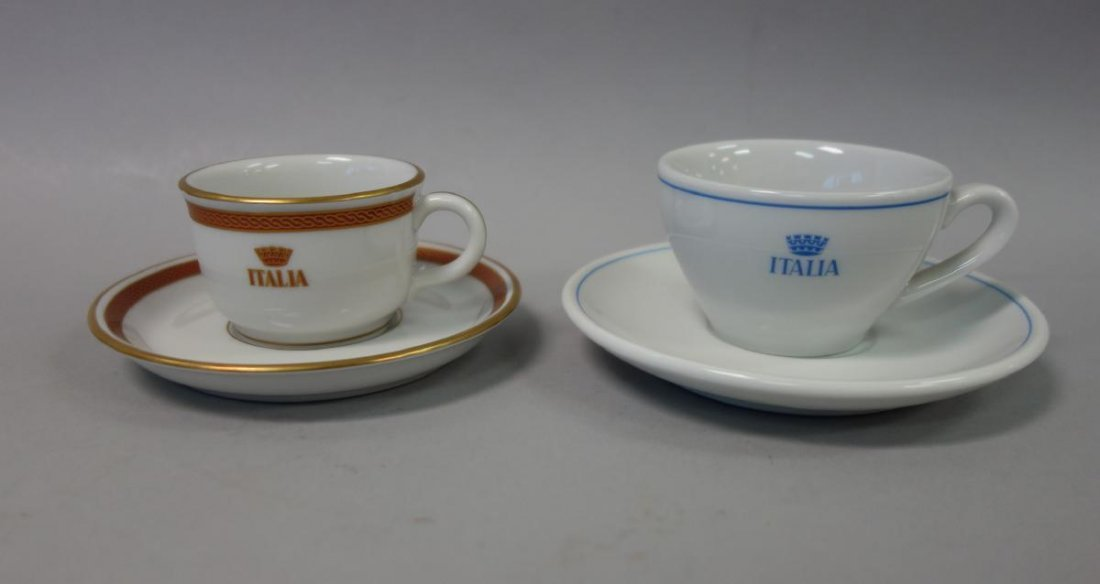 Ocean Liner China Sets, Italia, Royal Interocean + - 2