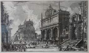 Giovanni Piranesi (1720-1778) Veduta del Castello