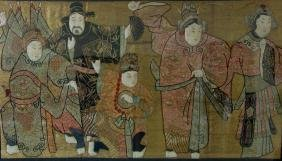 Fine Chinese Embroidered Needlework Picture