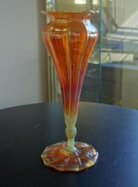 L. C. Tiffany Favrile Glass Floriform Vase