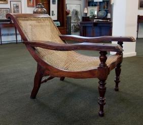 19thc British Colonial Plantation Chair