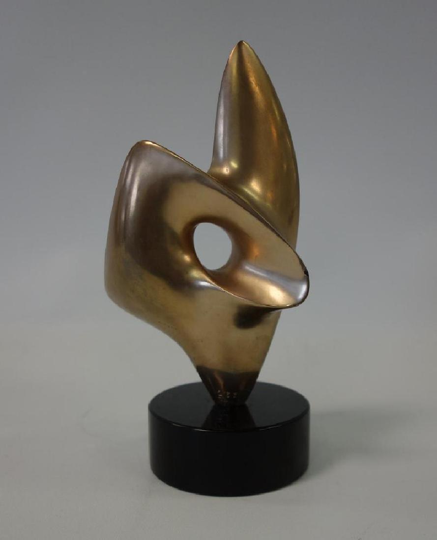 Antoine Poncet (b-1928) Bronze Sculpture