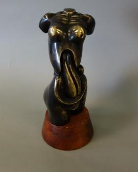 Bronze Female Nude Erotic Torso Sculpture