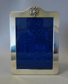 Sterling Silver Frame with Coat of arms of Russia