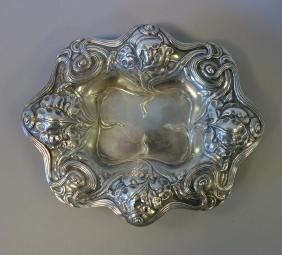 Art Nouveau Sterling Silver Dish by Alvin
