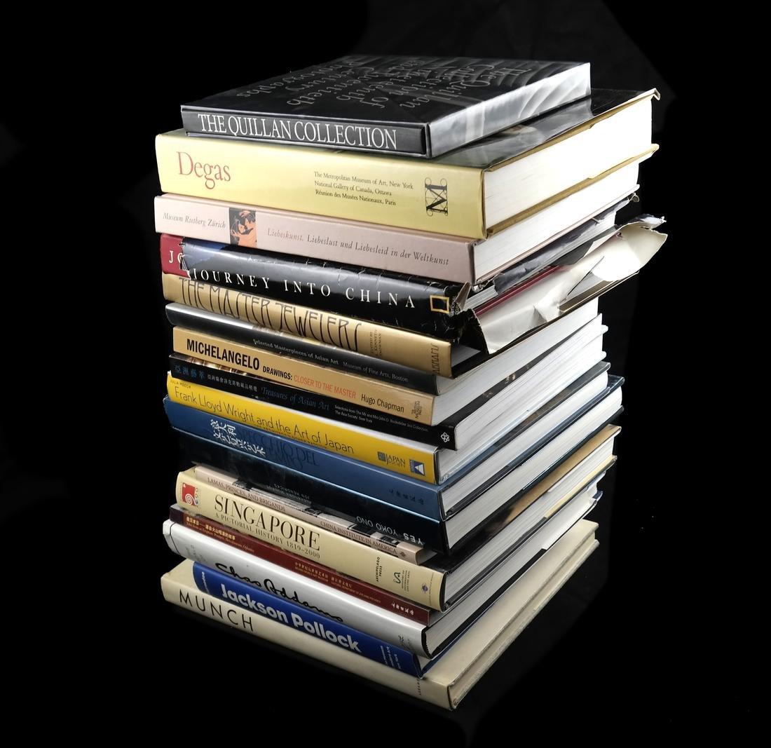 WESTERN AND ASIAN MODERN ART BOOKS