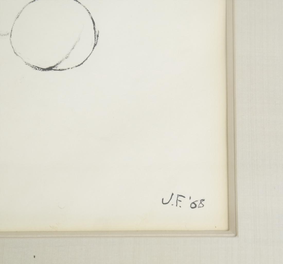 J.F. (20TH CENTURY), STILL LIFE OF FRUIT - 3