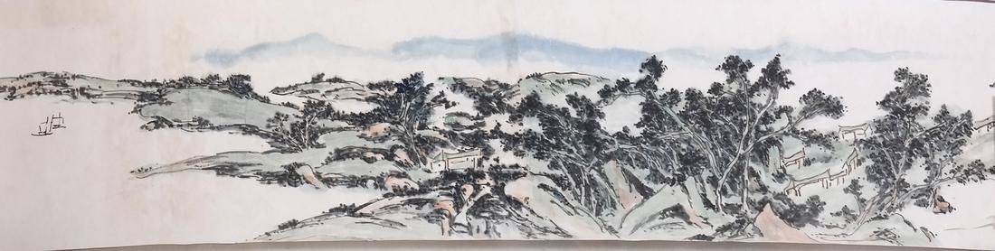 ASIAN: ATTRIBUTED TO HUANG BINHONG (20TH CENTURY) - 5