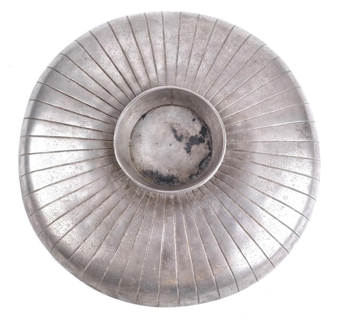 A SASANIAN STYLE SILVER PLATE - 2