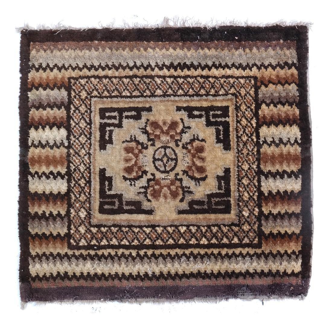 A TIBETAN MAT EARLY 20TH CENTURY