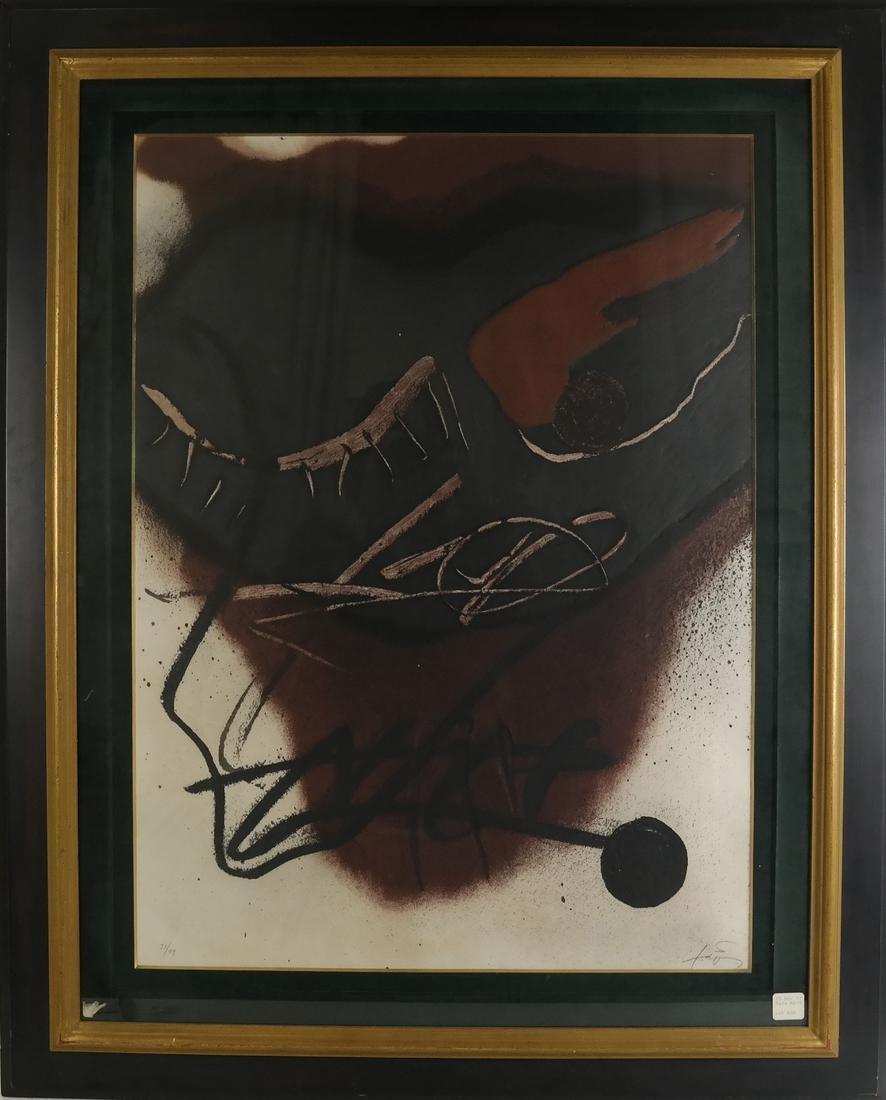 ANTONI TAPIES (1923-2012) - 2