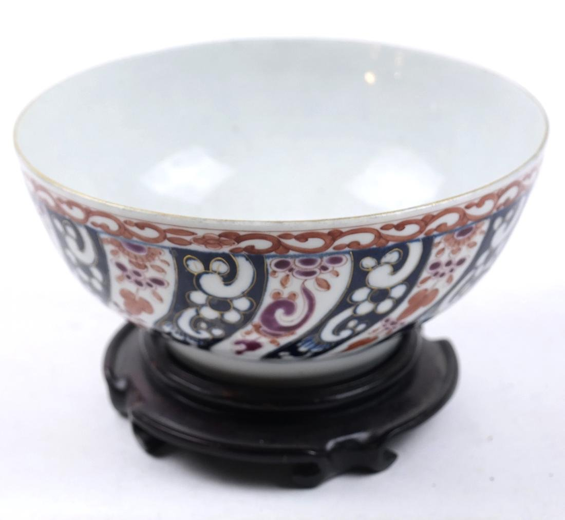 A WHITE AND RED-GLAZED BOWL 20TH CENTURY - 2