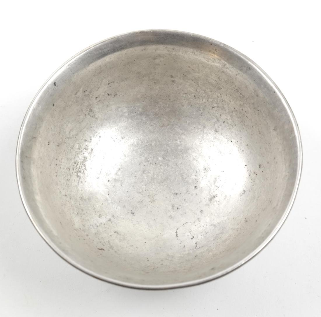 AN ENGRAVED SILVER BOWL, POSSIBLY ASIAN - 3