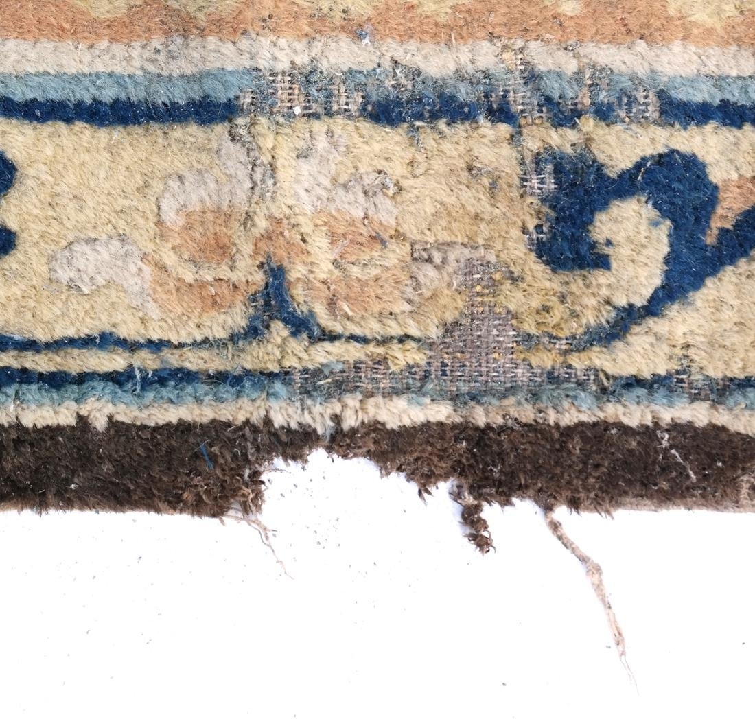 A CHINESE RUG 19TH CENTURY - 4