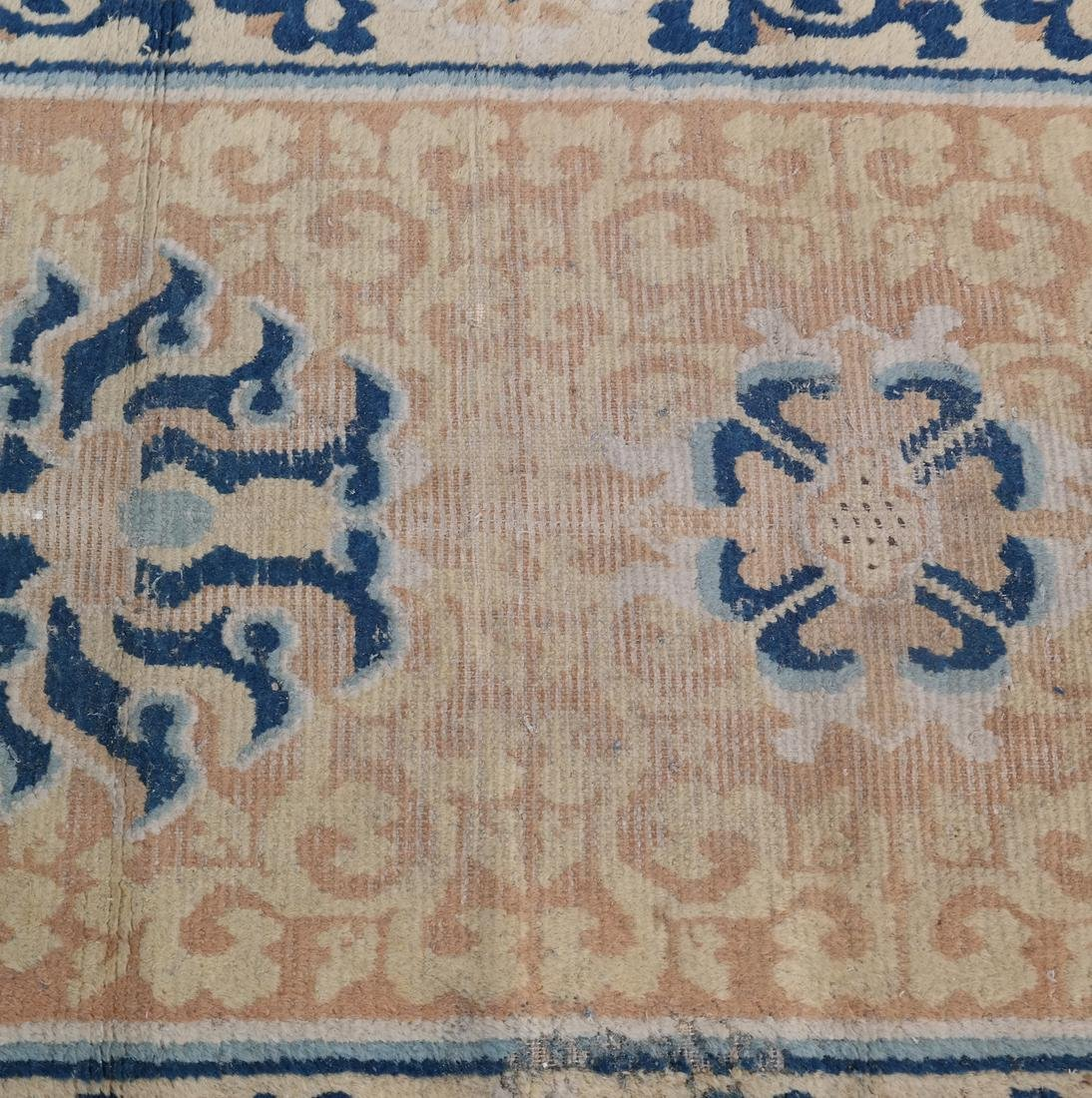 A CHINESE RUG 19TH CENTURY - 5