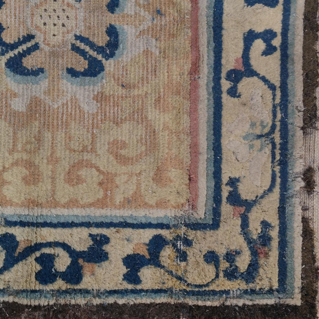 A CHINESE RUG 19TH CENTURY - 6