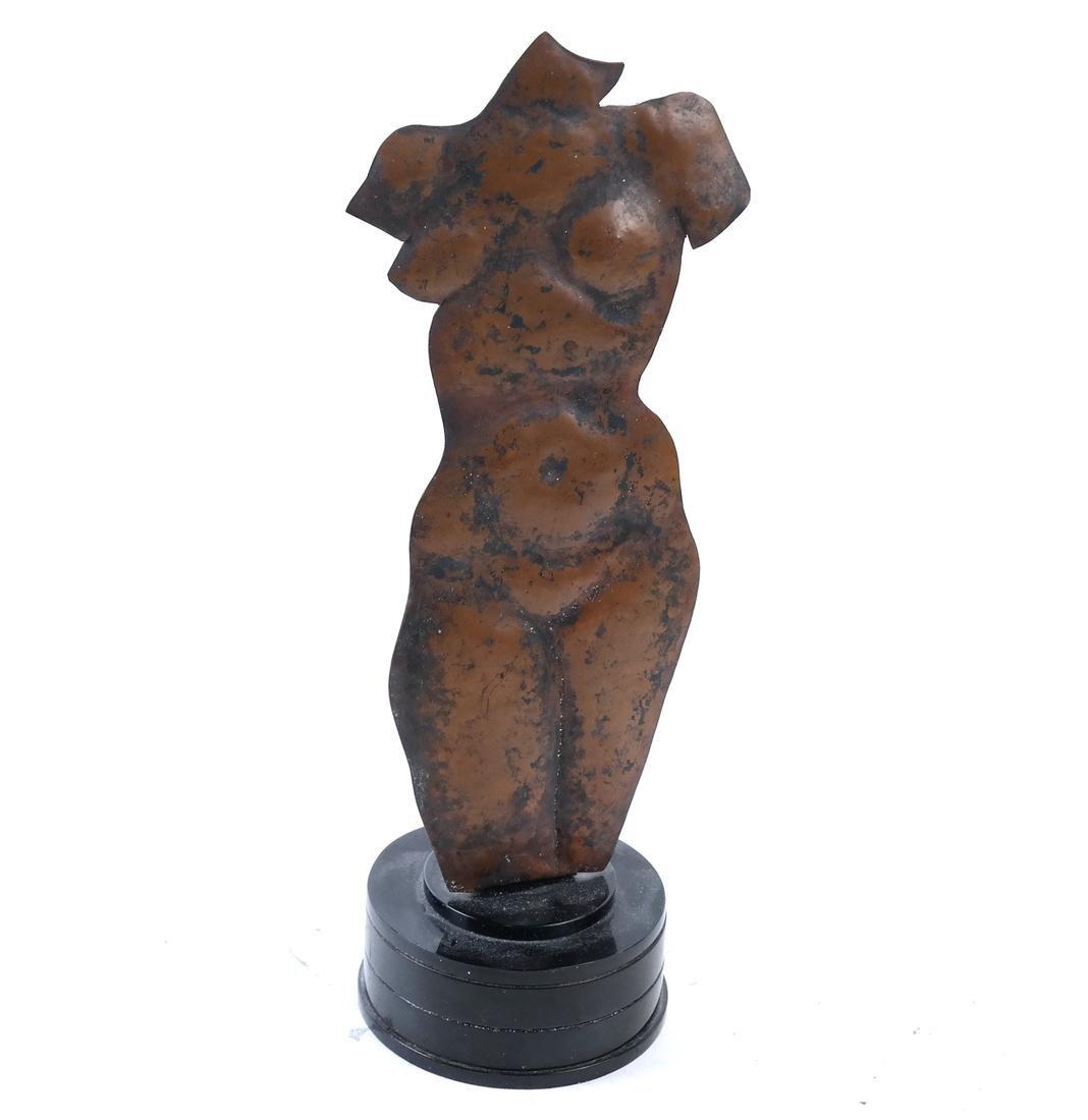 Peter Fingesten, Copper Torso Sculpture