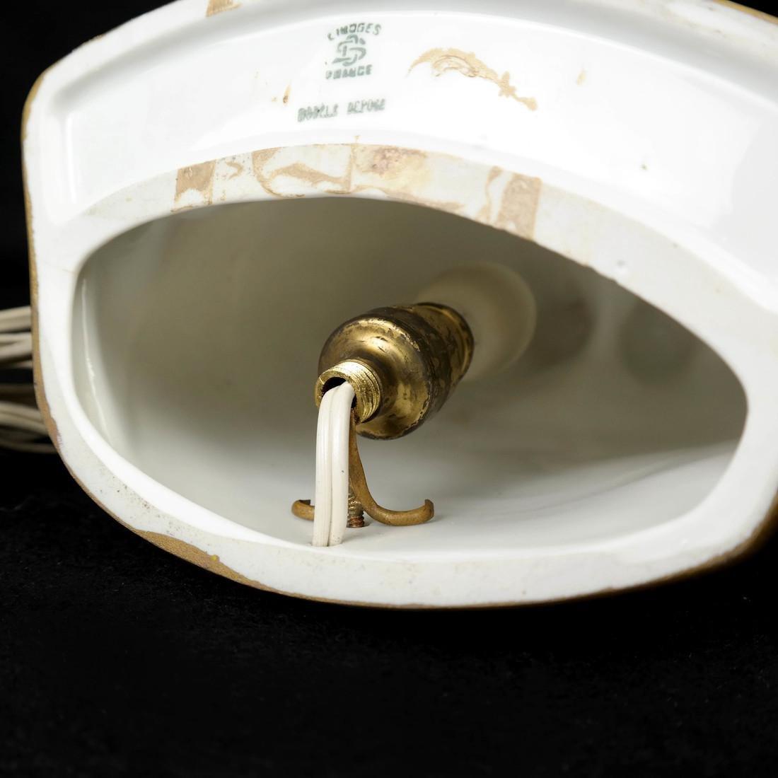Limoges Figural Lamp - 6