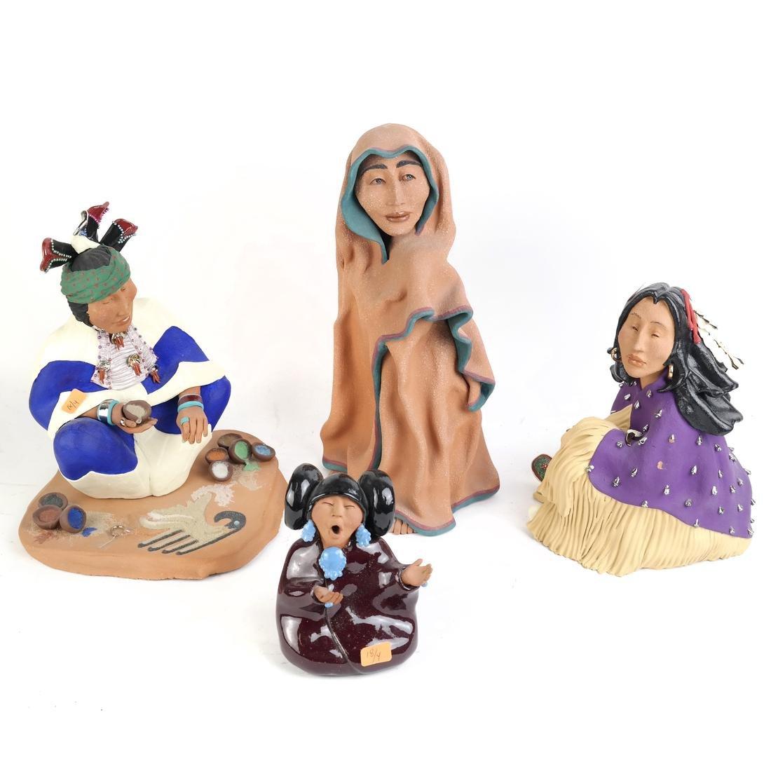 Jil Gurule, Four Sculptures