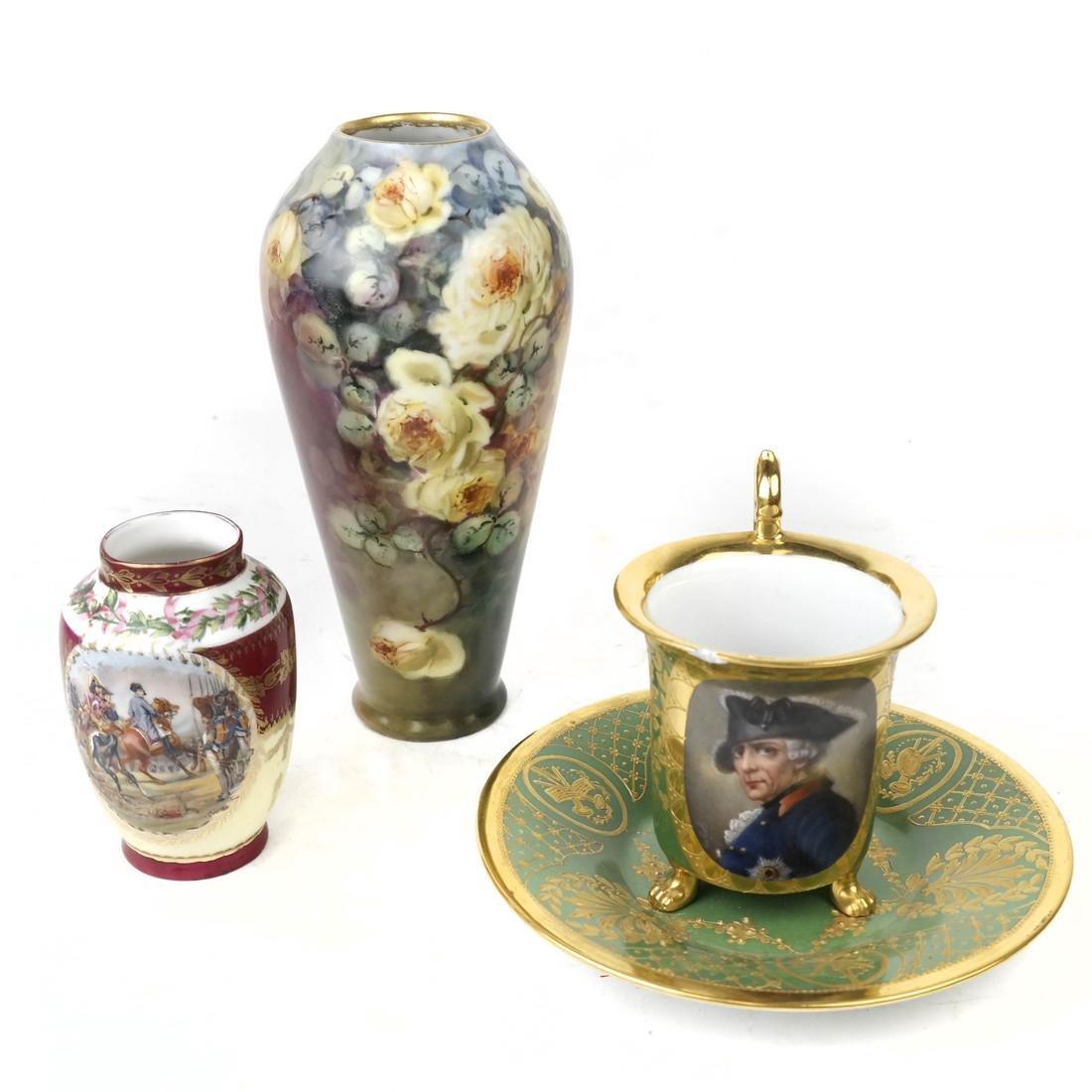 Four-Piece Dresden, Sevres Porcelain Group