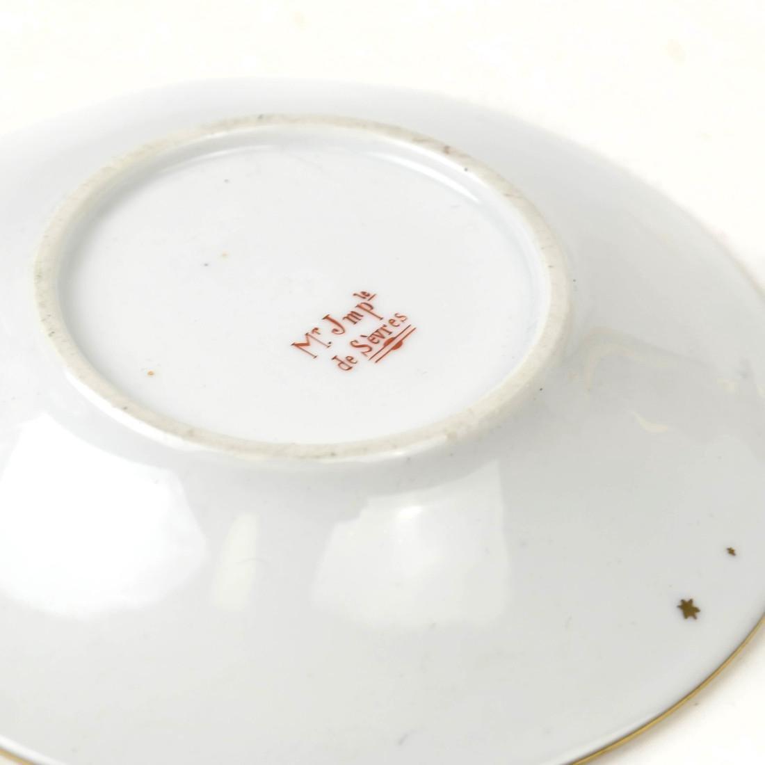 Four-Piece Dresden, Sevres Porcelain Group - 9