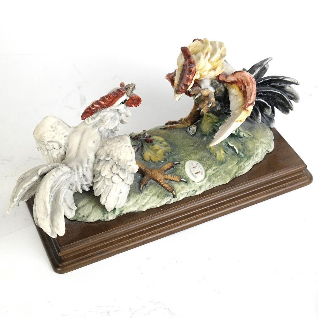 Group of Two Chicken Sculptures - 2