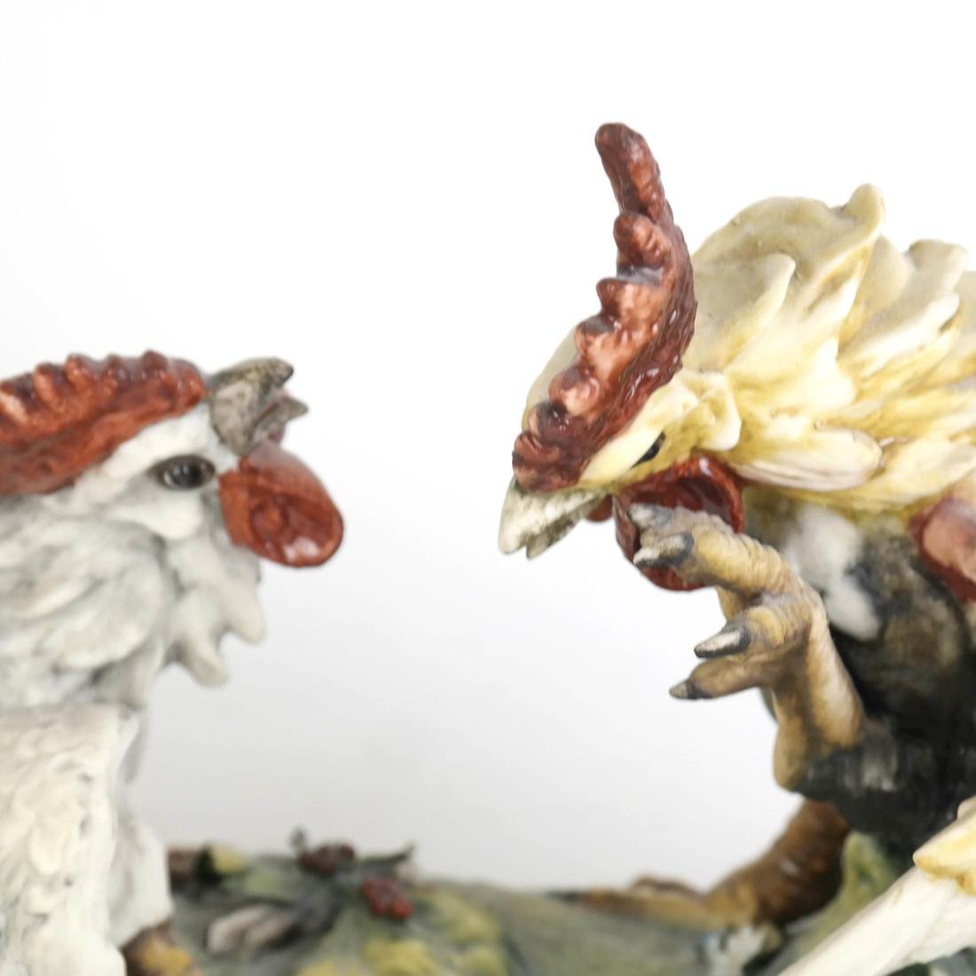 Group of Two Chicken Sculptures - 5