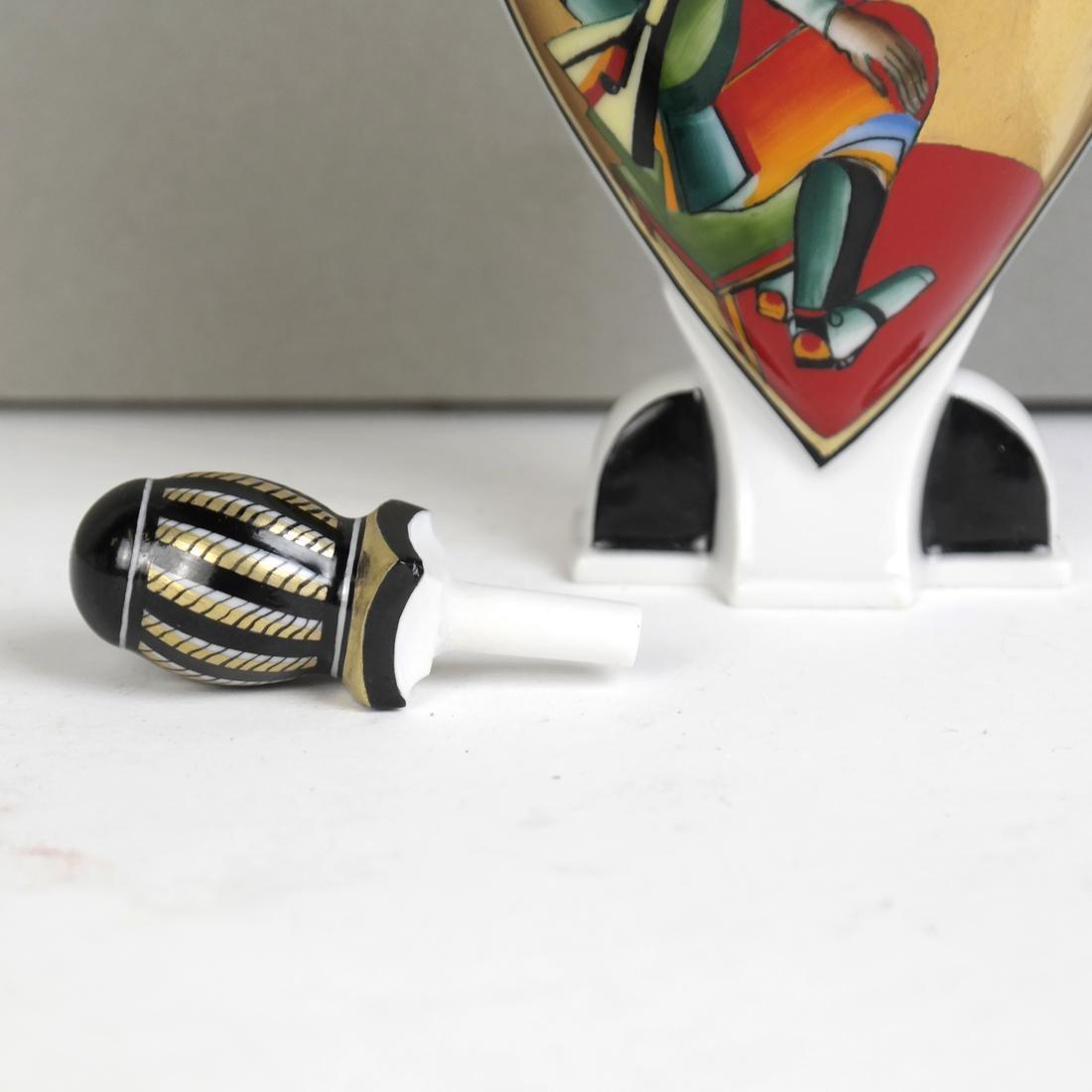 Russian lomonosov Porcelain Perfume Decanter - 4