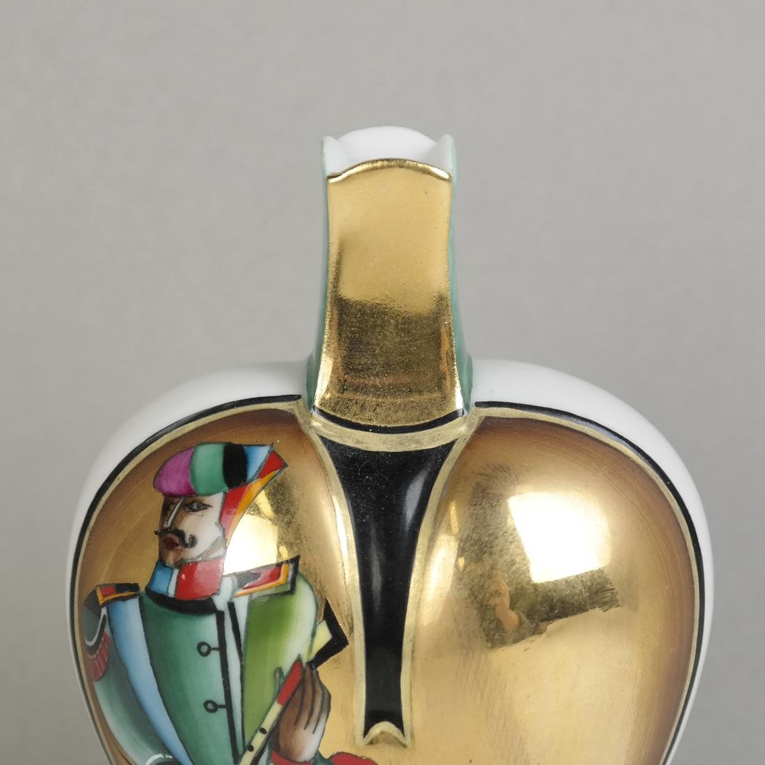 Russian lomonosov Porcelain Perfume Decanter - 5