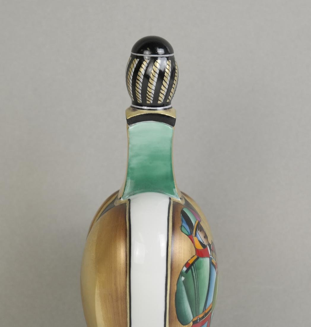 Russian lomonosov Porcelain Perfume Decanter - 9