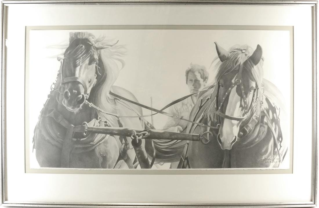 D.A. Dunford Horse Ride Print - 2