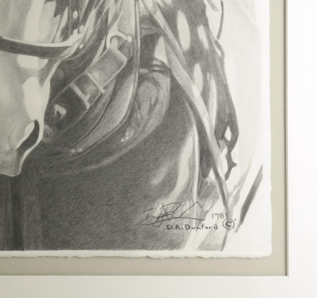 D.A. Dunford Horse Ride Print - 3