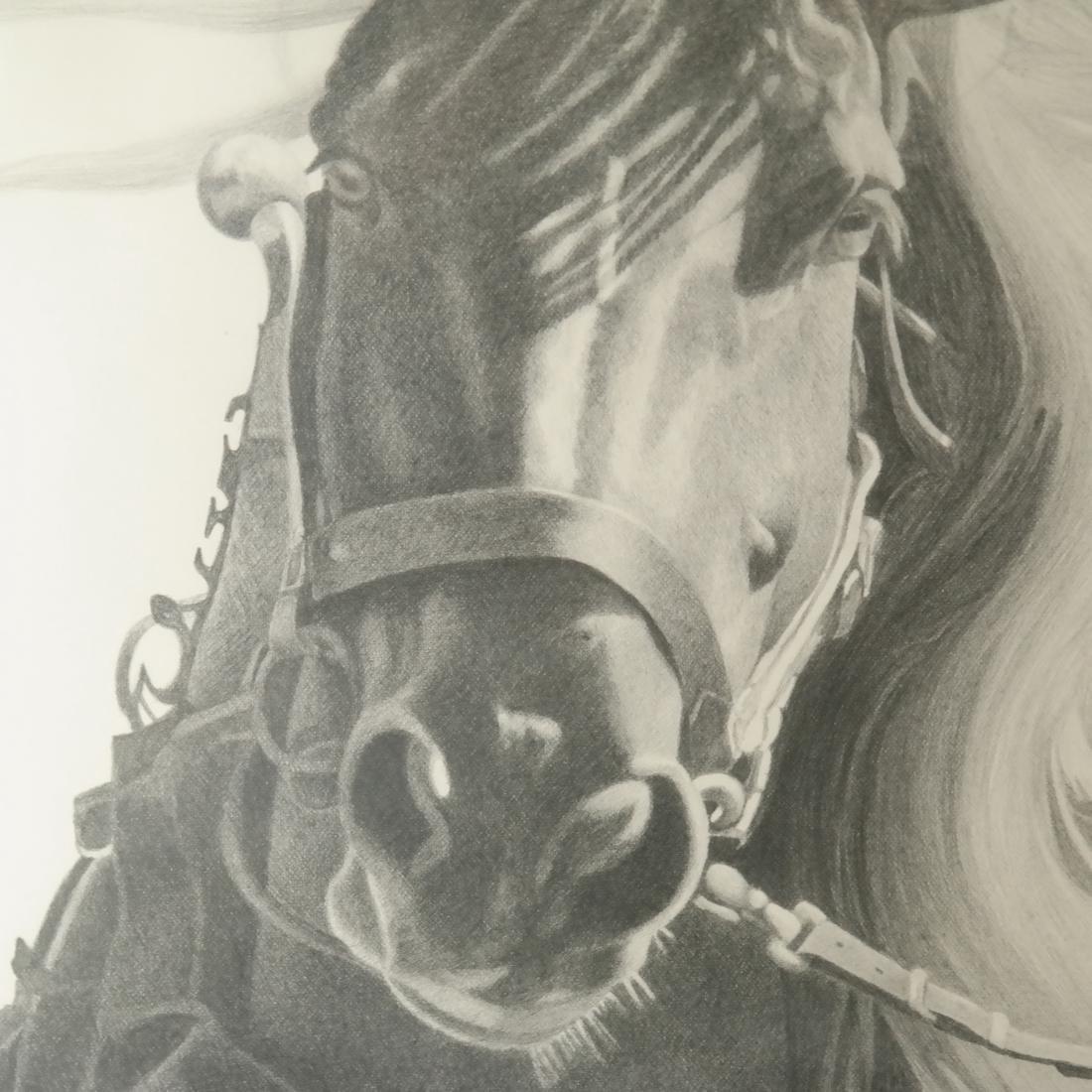 D.A. Dunford Horse Ride Print - 4