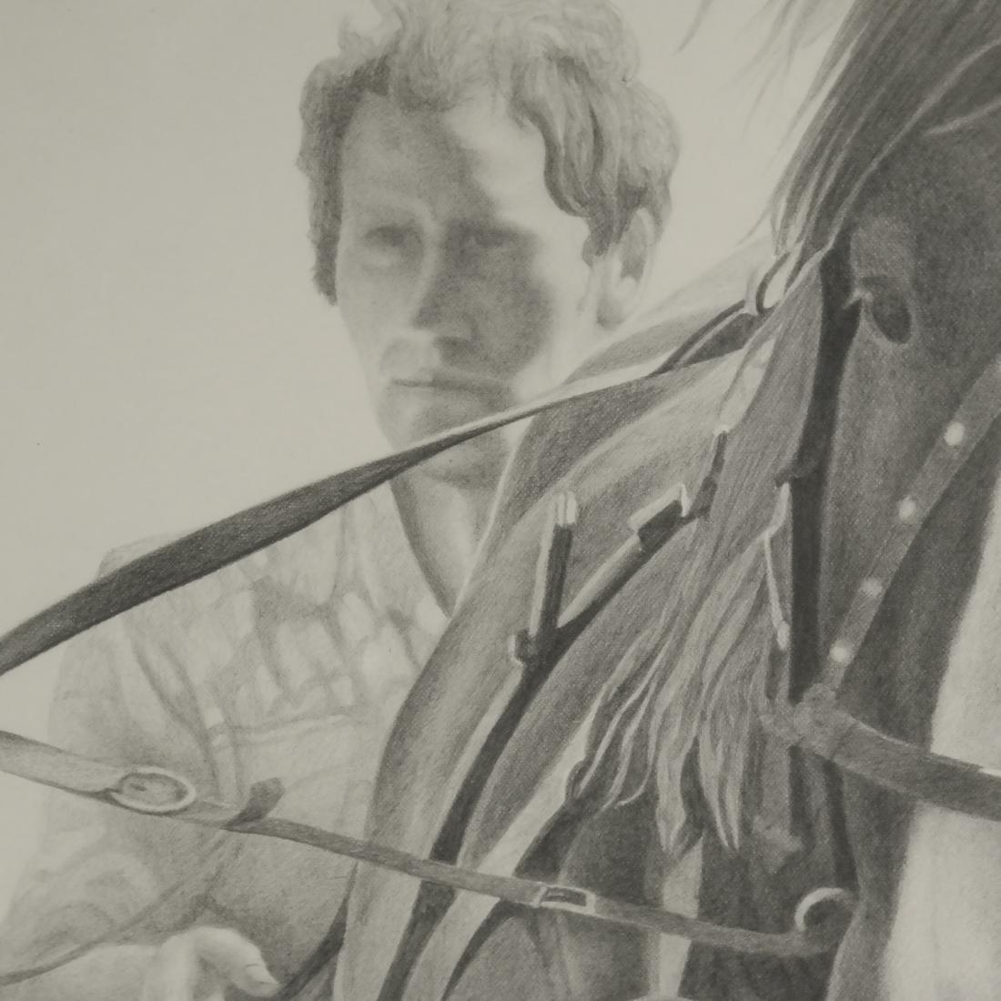 D.A. Dunford Horse Ride Print - 5