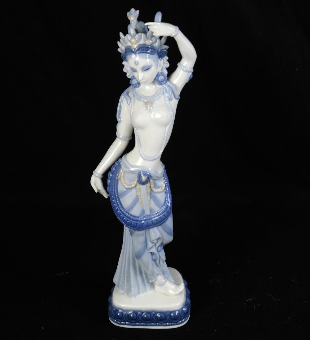 Asian Style Porcelain Woman - 4