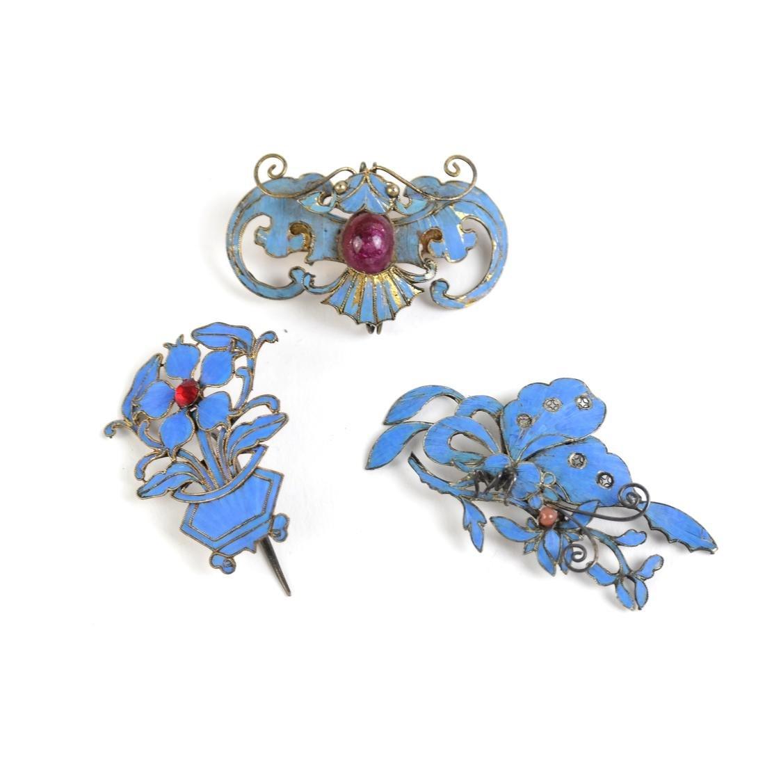 Chinese Kingfisher Hairpins