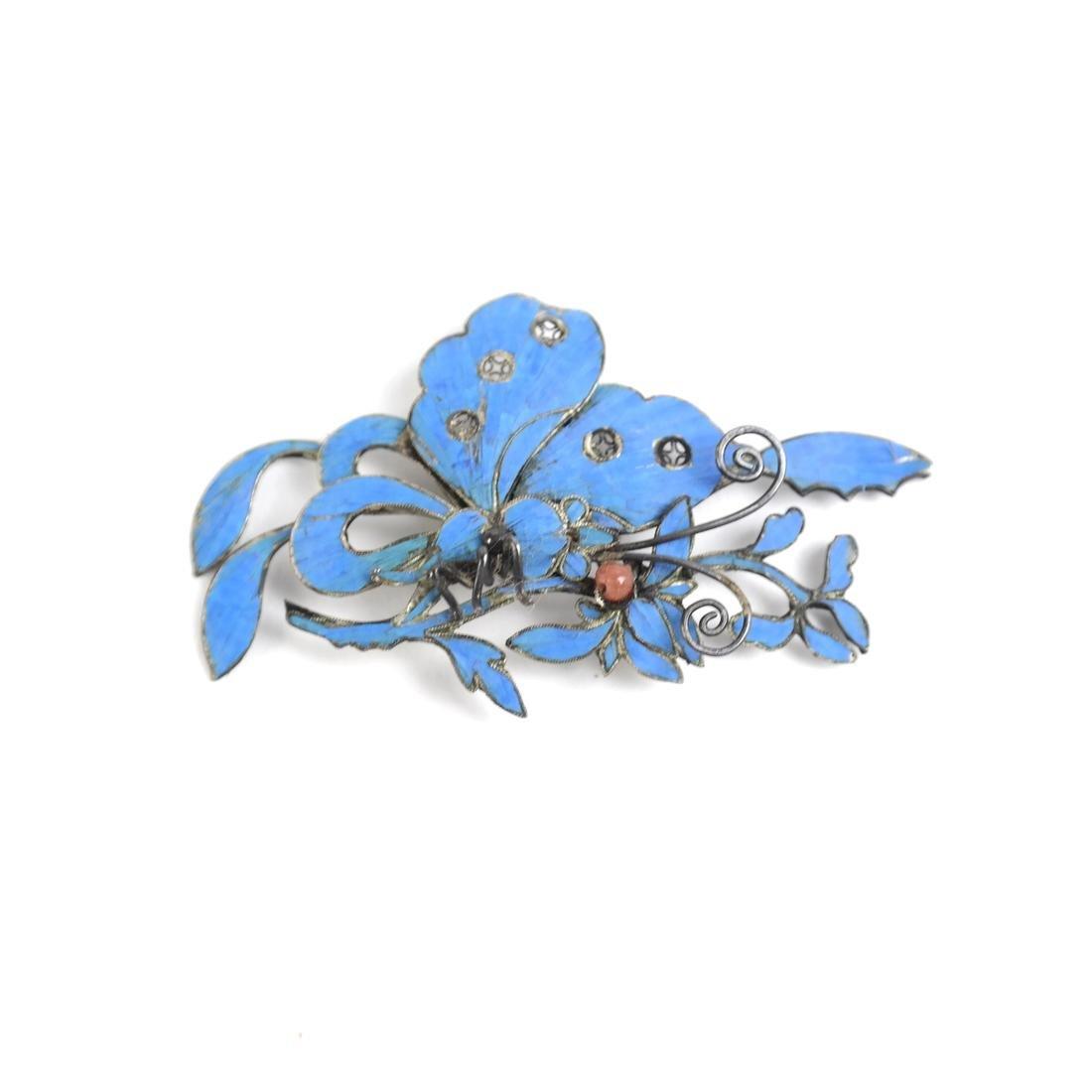 Chinese Kingfisher Hairpins - 2