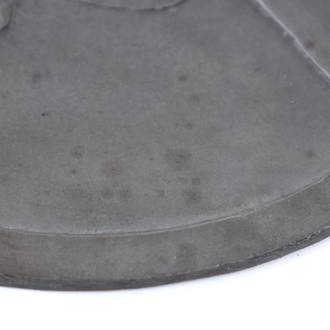 Patinated Bronze Rondel - 4