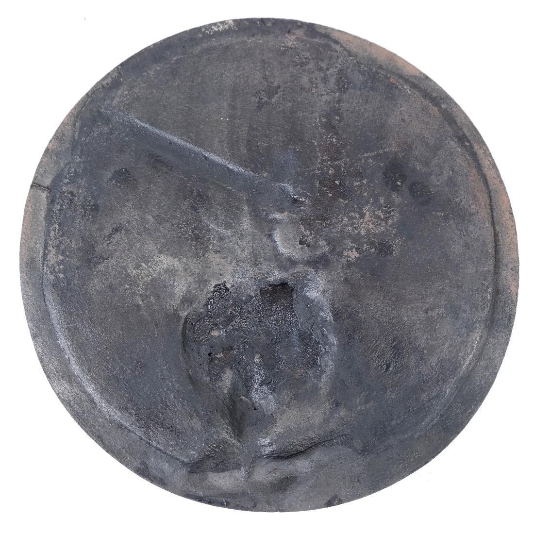 Patinated Bronze Rondel - 5