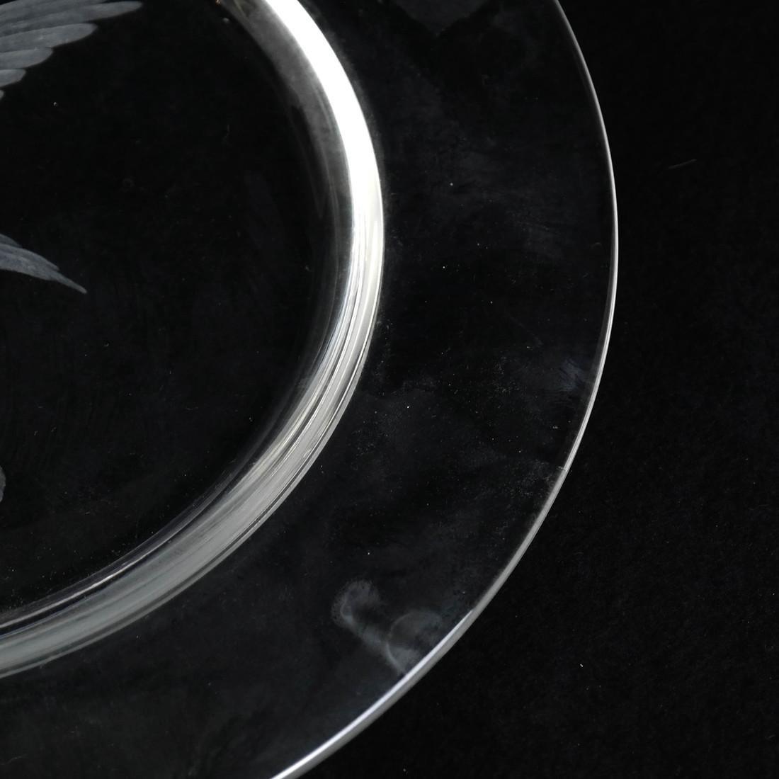 Steuben Glass Plate - 3