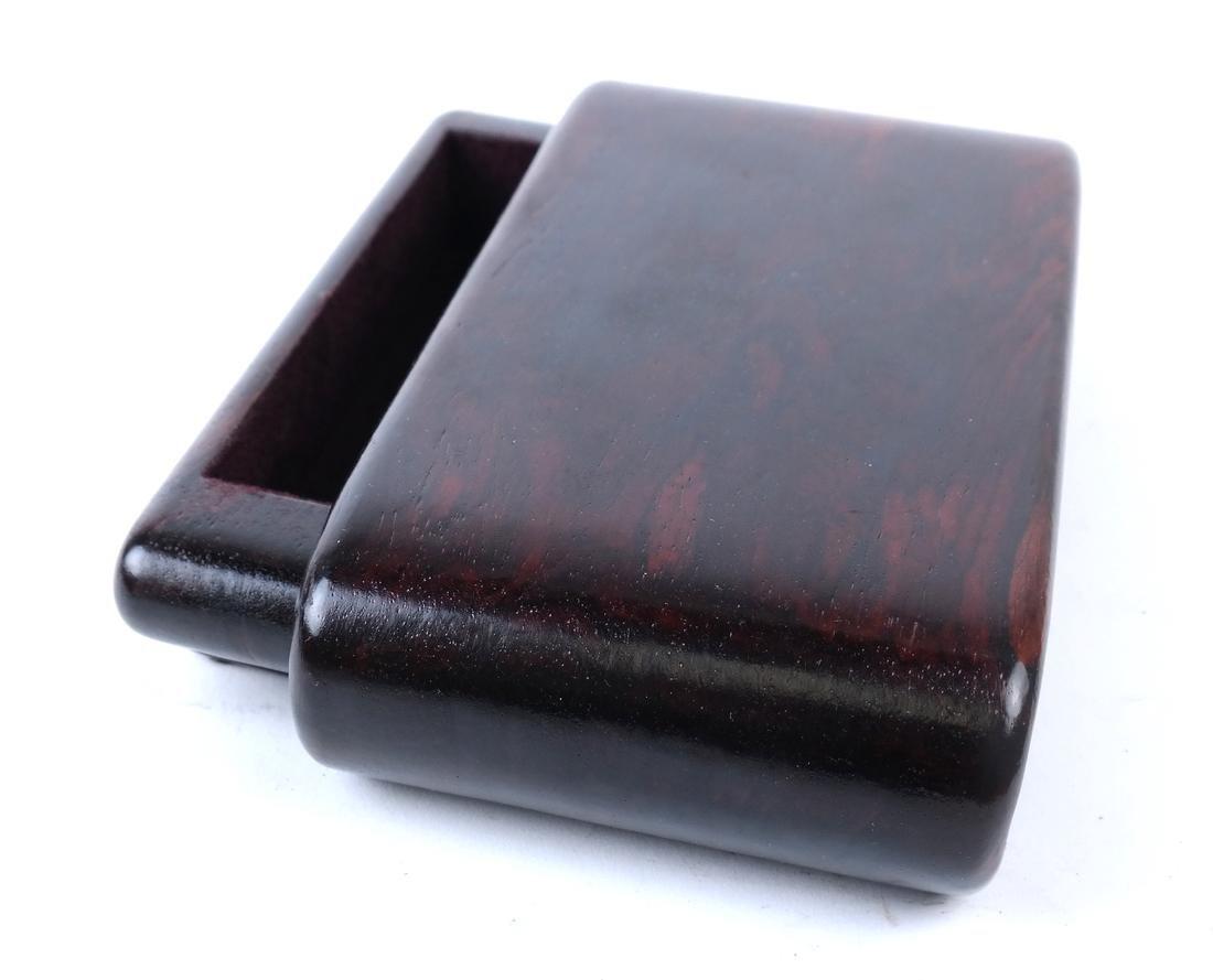 Polished Hardwood Box - 2