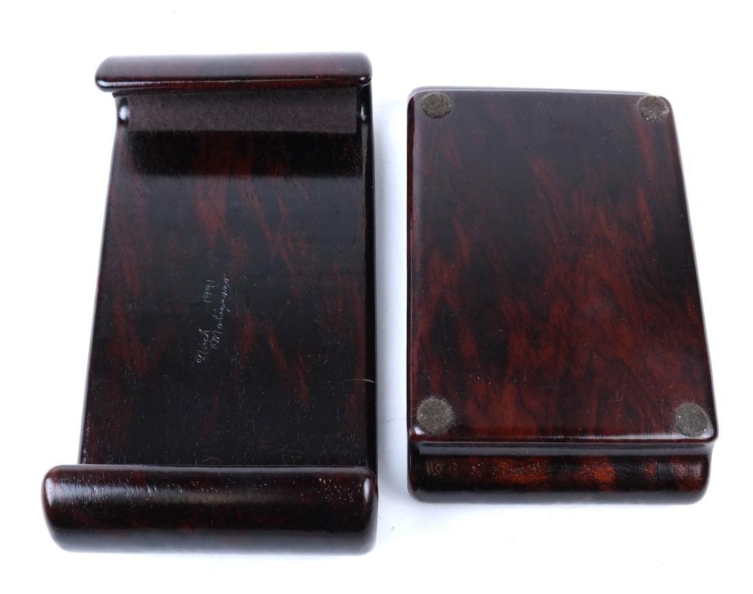 Polished Hardwood Box - 3