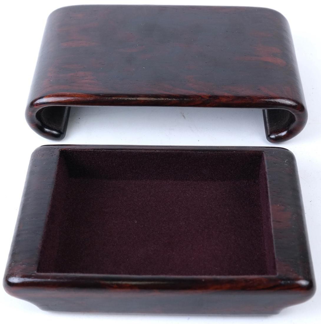 Polished Hardwood Box - 5