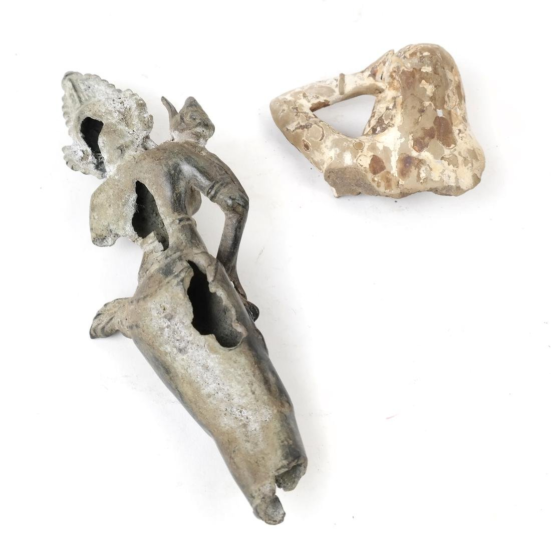 Two Various Deity Figural Shards - 2
